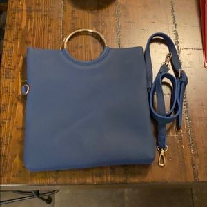 FRENCH CONNECTION Blue Chic Purse/Cross Body Bag!